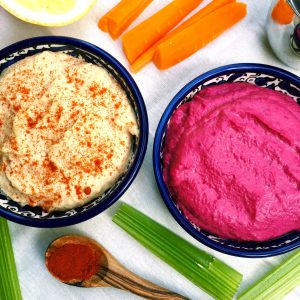 Classic and Beet Hummus