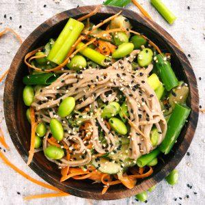 Thai Soba Noodle Salad