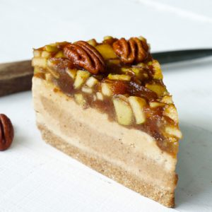 Apple Pecan Ice Cream Cake