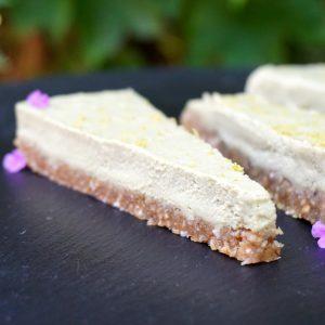 Raw Coconut Lime Key Pie