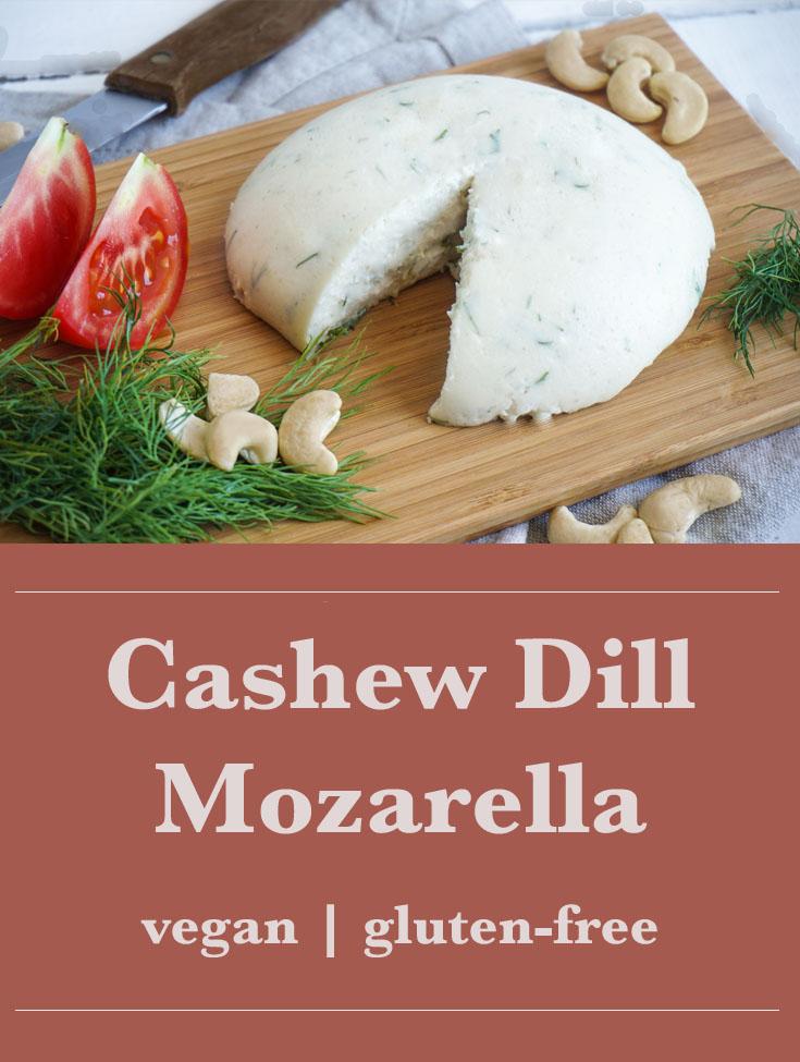Pinterest Cashew Dill Mozarella