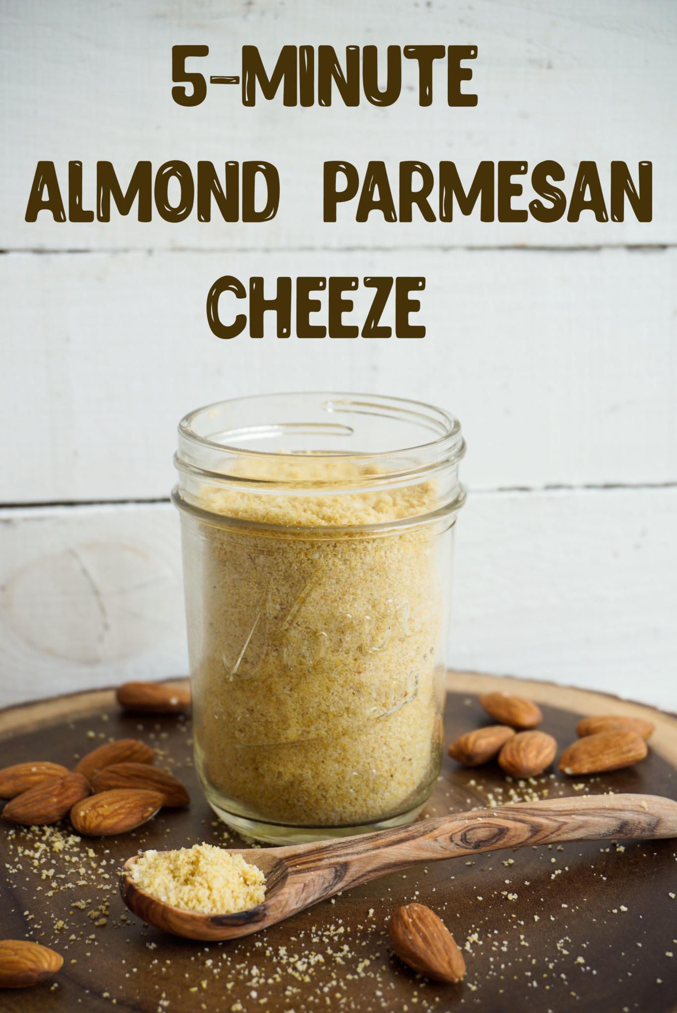 Almond Parmesan Cheeze - The Tasty K