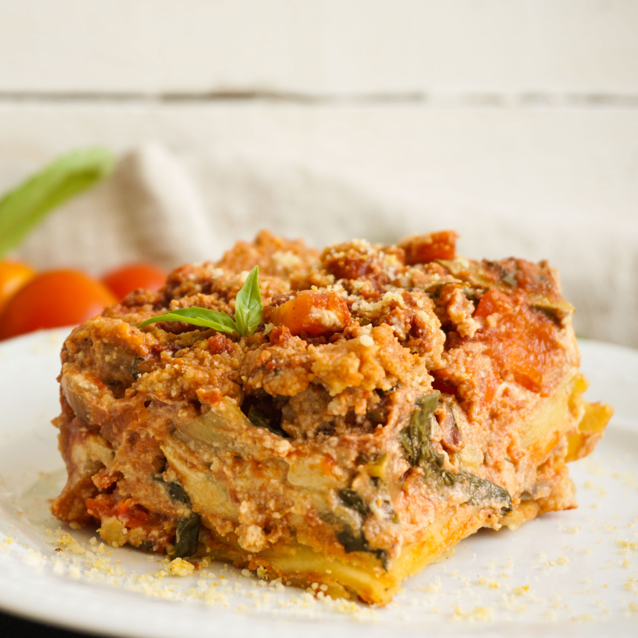Vegan Lasagna The Tasty K