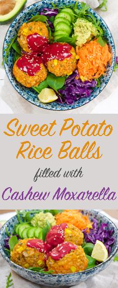 Pin Sweet Potato Rice Balls