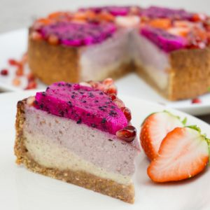 Raspberry Vanilla Cheesecake