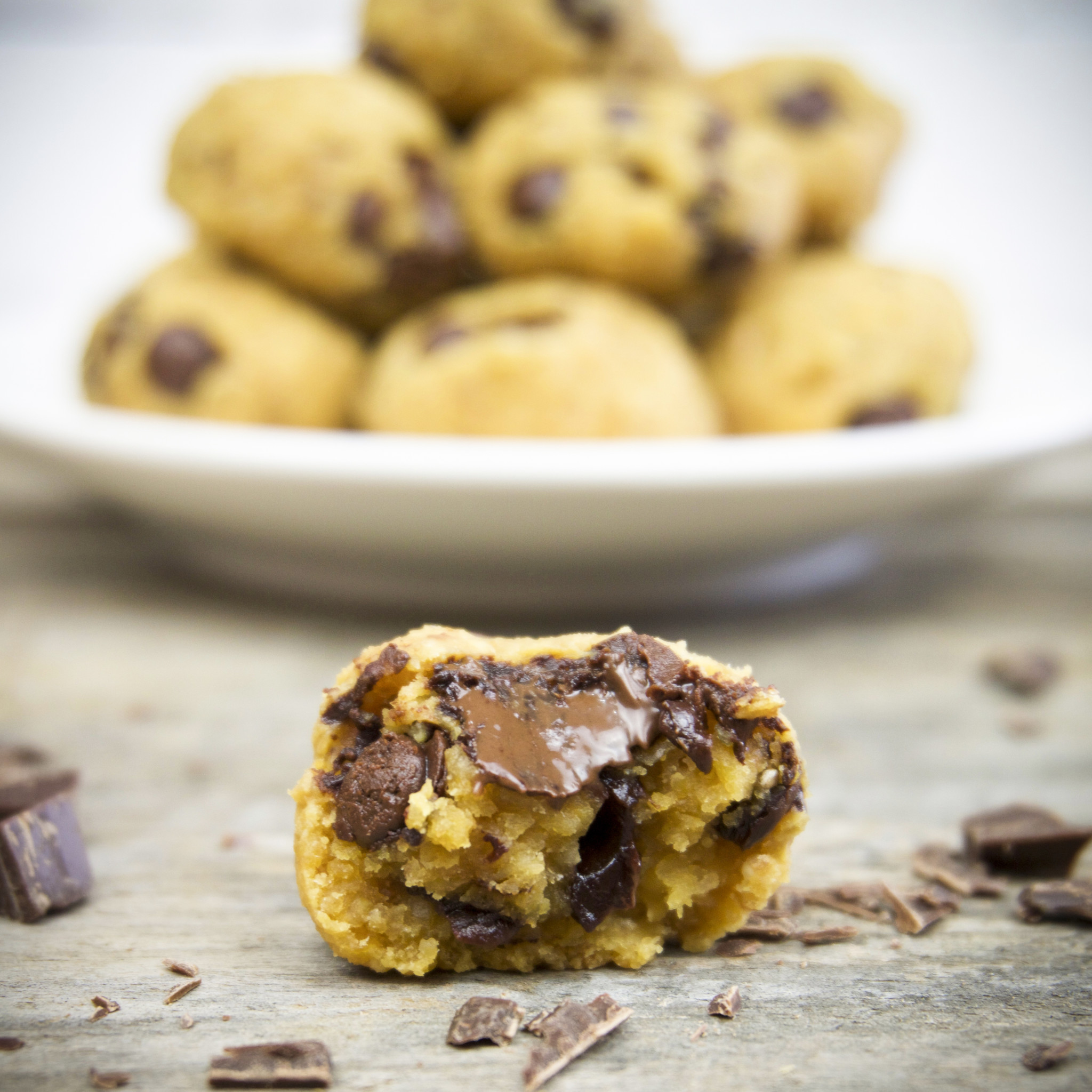 Chocolate Chip Cookie Bites - The Tasty K