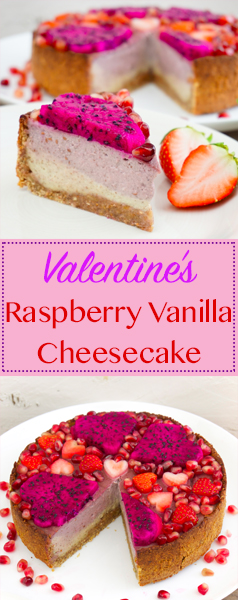Raspberry Vanilla Cheesecake Pinterest