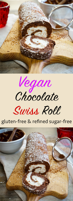 Vegan Swiss Roll Pinterest
