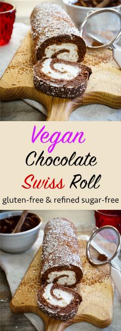 Vegan Swiss Roll Pinterest
