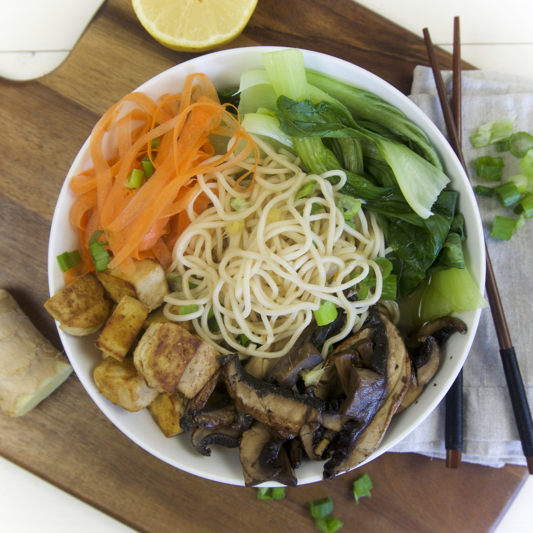 Easy Vegan Ramen Soup The Tasty K
