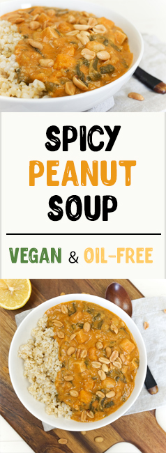 Spicy Peanut Soup - The Tasty K