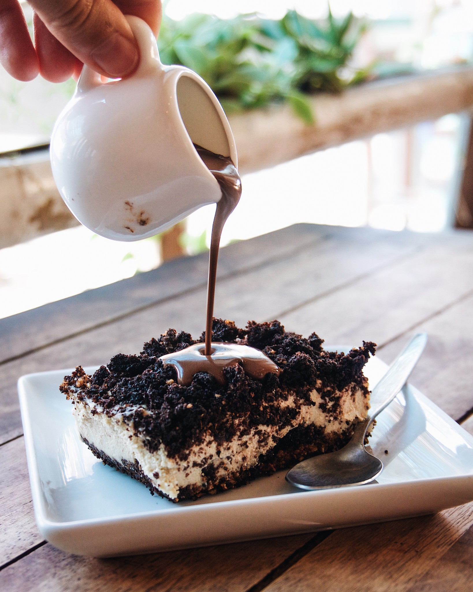Oreo cheesecake at Eat.co