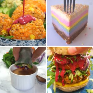 Eat The Rainbow 4 Ways