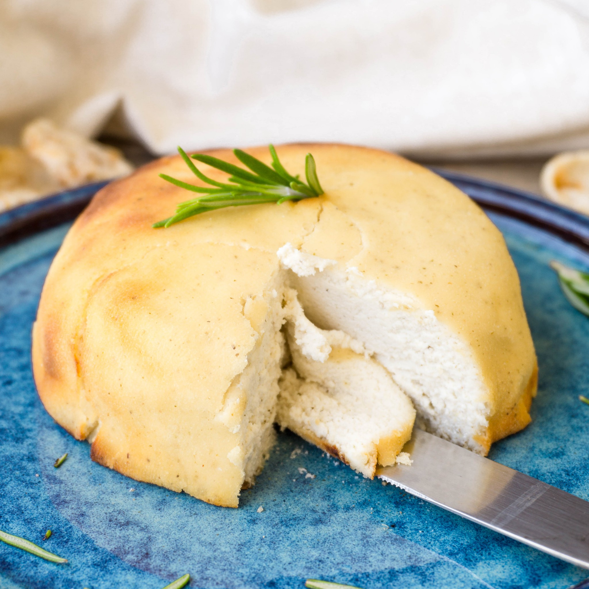 Baked Macadamia Feta