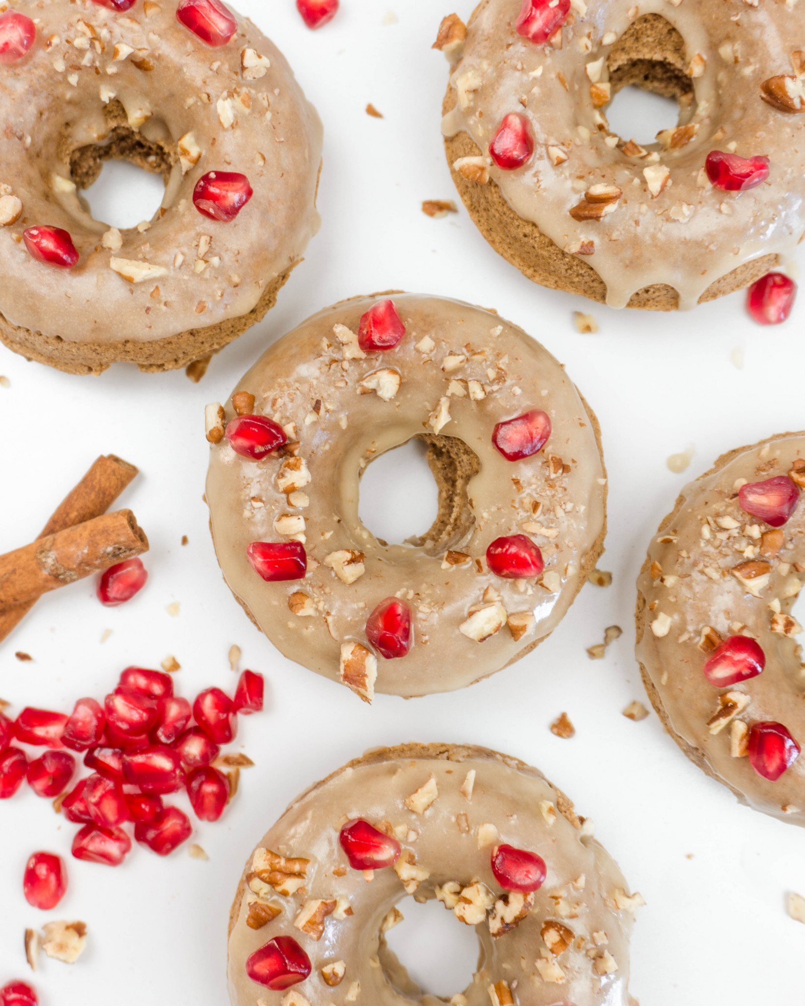 Chai Maple Donuts