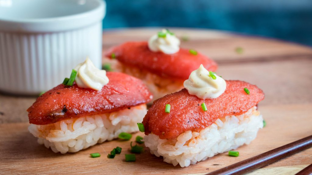 Vegan Tuna Nigiri
