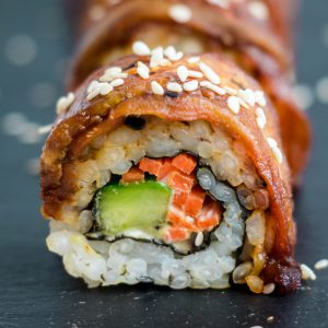 Eggplant Dragon Roll