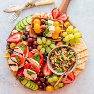 Vegan Antipasto Cheese Platter