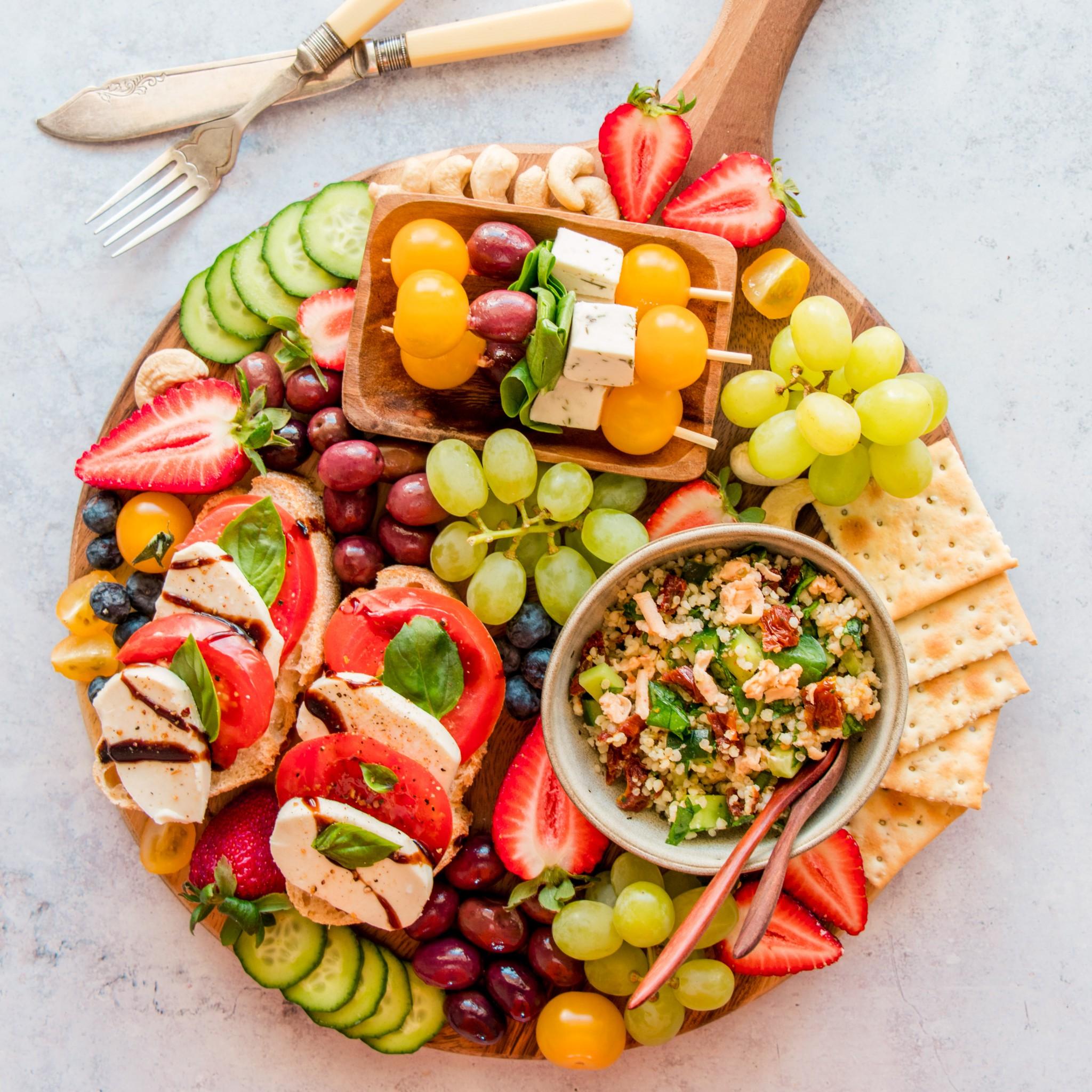 Vegan Antipasto Cheese Platter The Tasty K