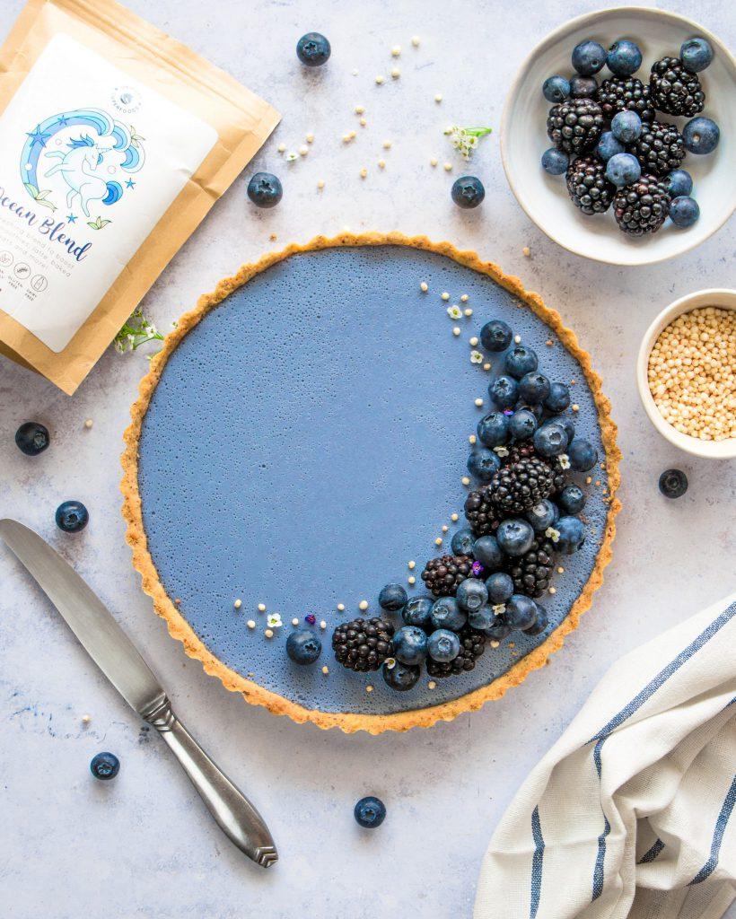 Blueberry Ocean Tart