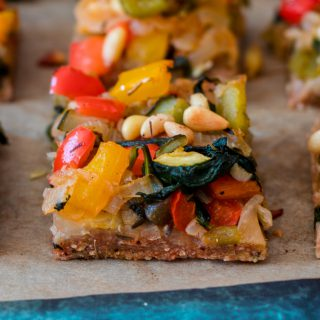 Vegetable Flatbread Tarte