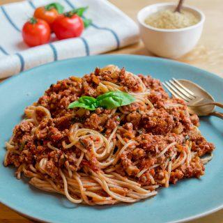 Vegan Spaghetti Bolognese